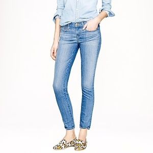 J.CREW Toothpick jean in Northport wash